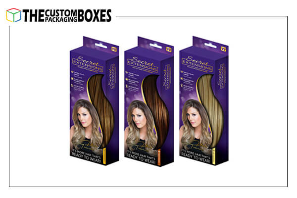 Wholesale foldable hair extension boxes