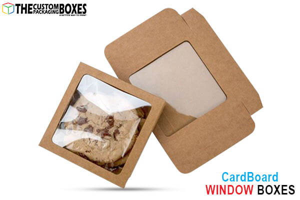 Window box packaging