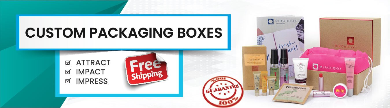 custom Printed packaging boxes with logo