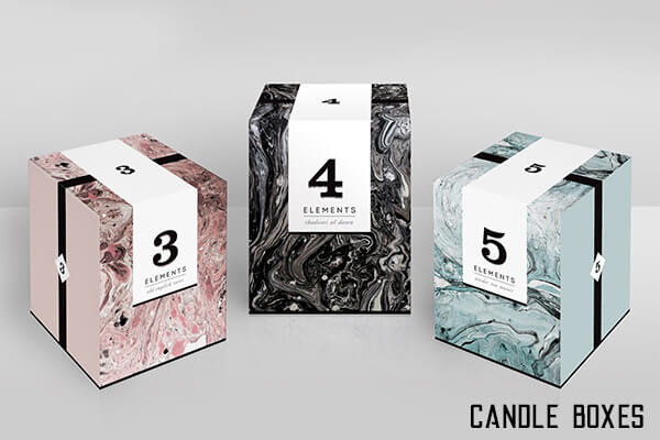 Boxes for Candles