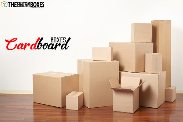 What are different types of Custom Cardboard Boxes?