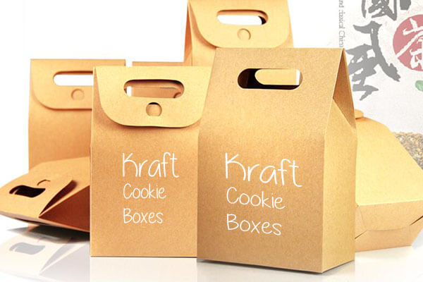 Cookie Packaging Boxes with handle to hold.
