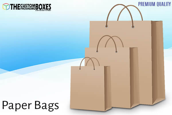How paper bags play important role in the world of custom boxes?