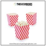 Easy to hold Customized Paper Popcorn Boxes