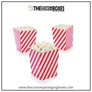 custom paper popcorn boxes