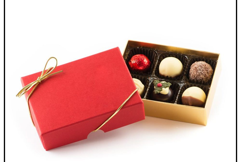 Standard Quality Custom Chocolate Truffles Gift Box