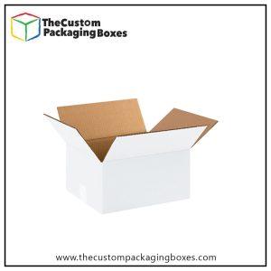 White Cardboard Boxes in custom design