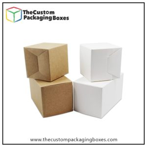 White Cardboard Boxes in custom design