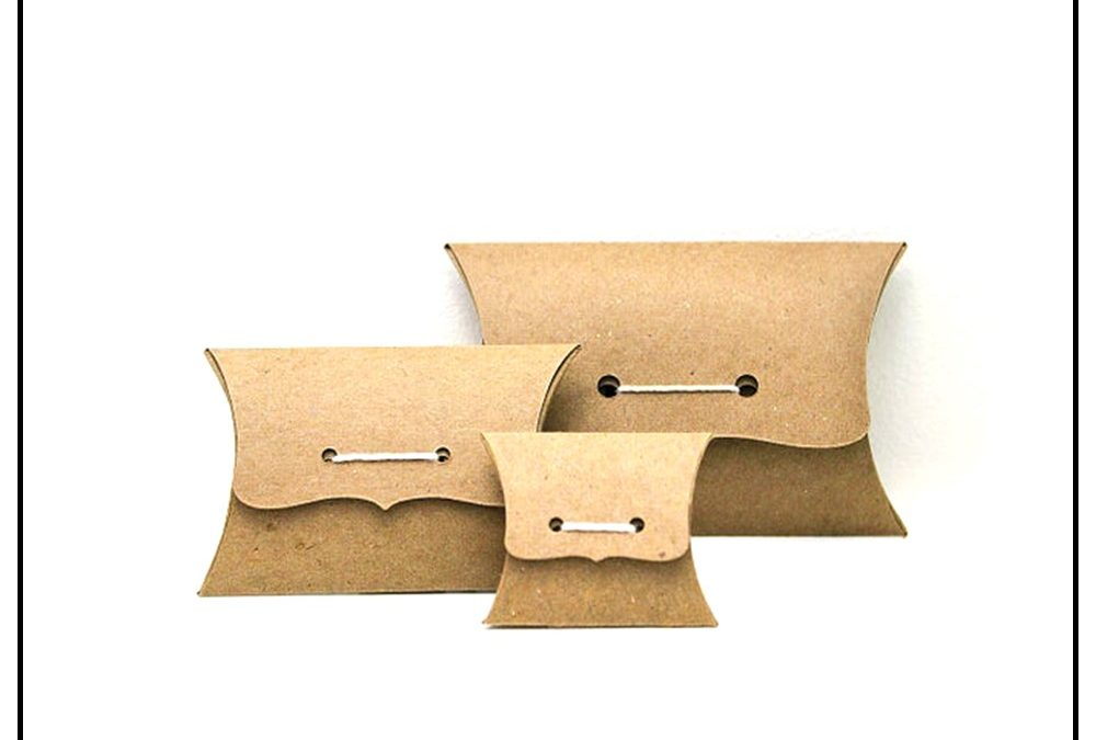 Custom Pillow Style Packaging Boxes