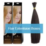 Hair extension Boxes – promote your goods differently