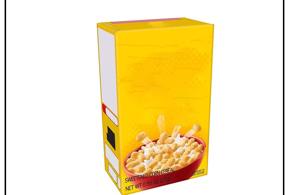Cereal Boxes | Custom cereal boxes USA | Wholesale cereal boxes