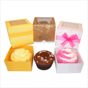 Cupcake boxes - just imagine because we are going to make it