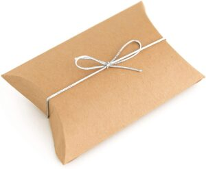 Pillow boxes - enhance the visual appeal of your products with these boxes