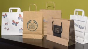 Paper shopping bags - carry your shopping items stylishly using colorful paper bags