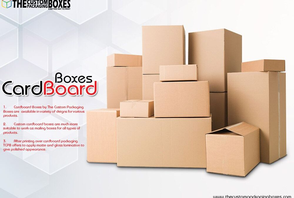 Cardboard boxes – give your products a new look with our rigid boxes