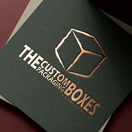 gold foil The Custom Packaging Boxes